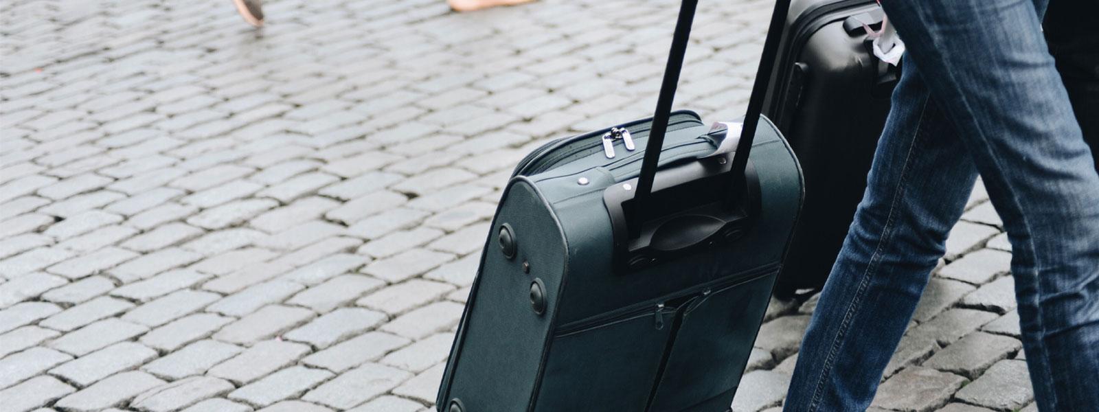 スーツケースのお修理